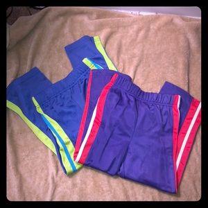 Girls track pants